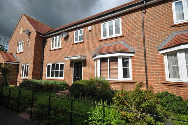 Thumbnail Terraced house to rent in Albanwood, Watford
