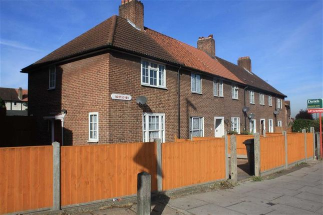 Thumbnail End terrace house to rent in Northover, Downham, Bromley