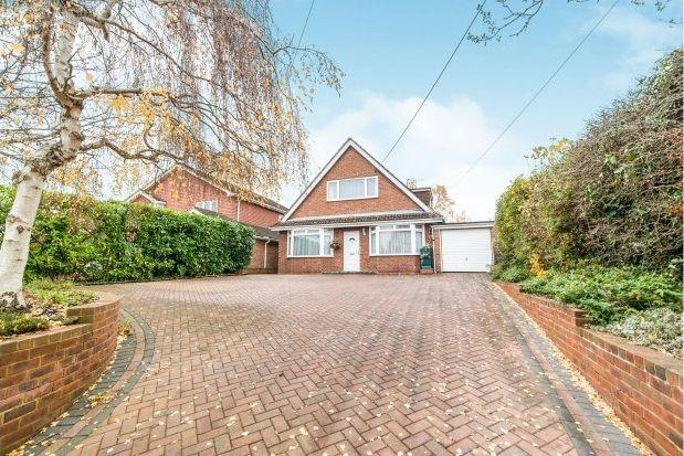 Thumbnail Detached house to rent in Hatch Lane, Old Basing, Basingstoke