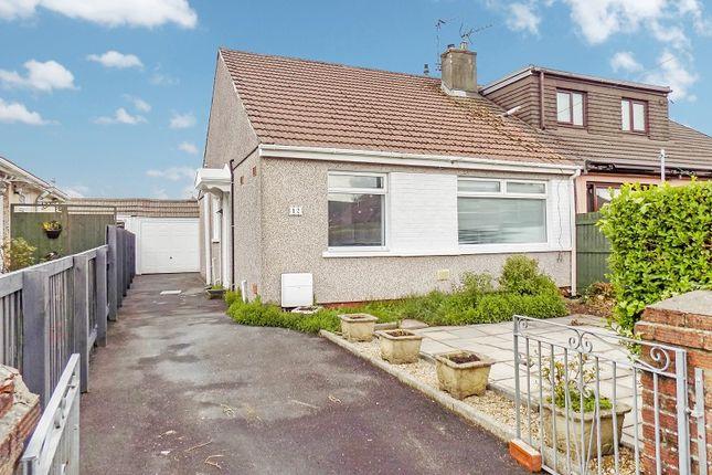 Thumbnail Semi-detached bungalow for sale in Tennyson Drive, Cefn Glas, Bridgend .