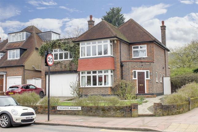 Thumbnail Detached house for sale in Ringwood Avenue, Ringwood Estate, London