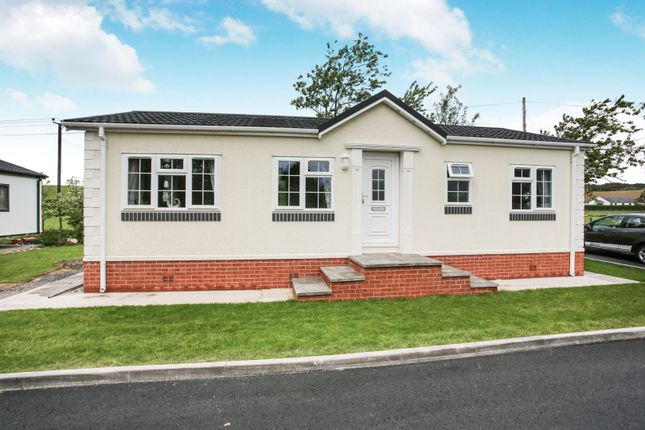 Thumbnail Bungalow for sale in Mossband Residential Mobile Home Park, Dumfries