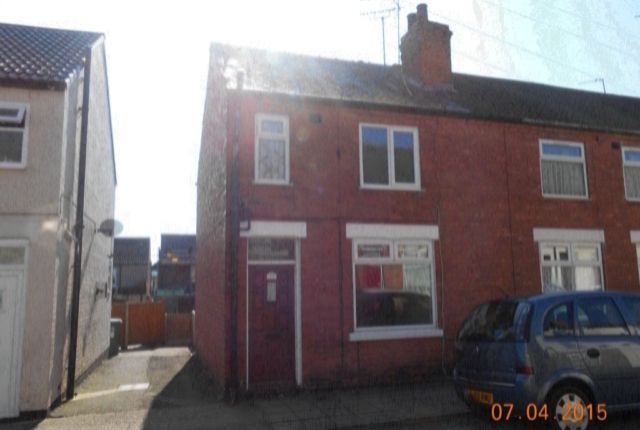 Thumbnail End terrace house to rent in Hall Street, Mansfield, Notts