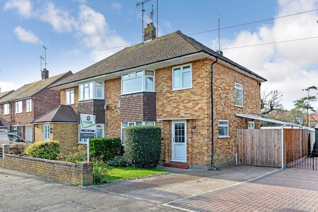 Thumbnail Semi-detached house for sale in Cootes Avenue, Horsham