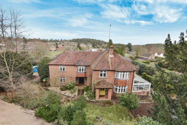 Thumbnail Detached house for sale in Frensham Road, Lower Bourne, Farnham, Surrey