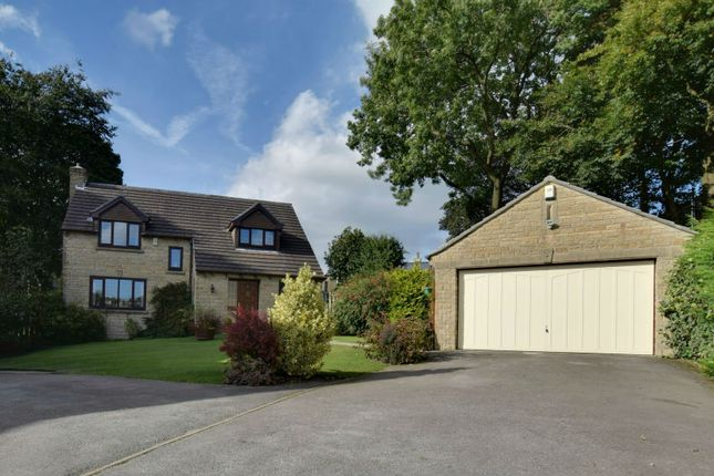Thumbnail Detached house for sale in Langport Close, Queensbury, Bradford, West Yorkshire