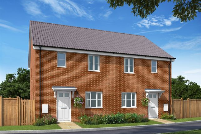 Thumbnail Semi-detached house for sale in Gipping Road, Great Blakenham, Ipswich
