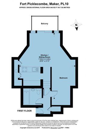 Floorplan of Fort Picklecombe, Maker PL10