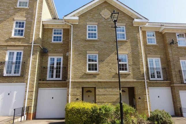 Thumbnail Town house for sale in Scholars Court, Northampton