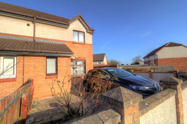 Thumbnail Semi-detached house for sale in Leyshade Court, Dundee