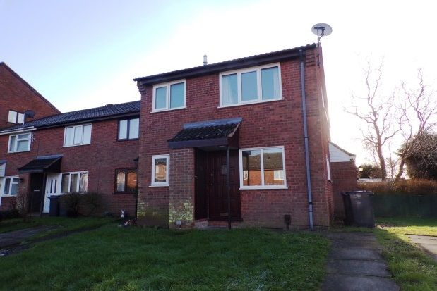 Thumbnail Town house to rent in Willow Close, Burbage