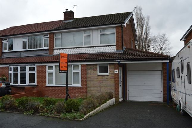 Thumbnail Semi-detached house to rent in St. Giles Drive, Hyde