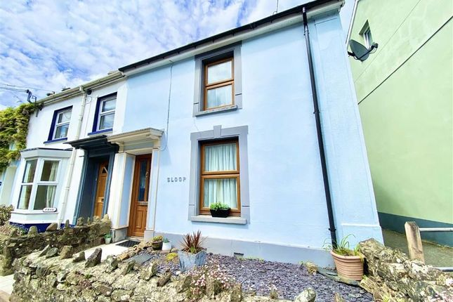 Thumbnail End terrace house for sale in High Street, St Dogmaels, Pembrokeshire