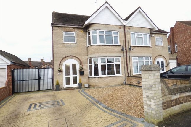 3 bed semi-detached house for sale in Warbon Avenue, Peterborough, Cambridgeshire