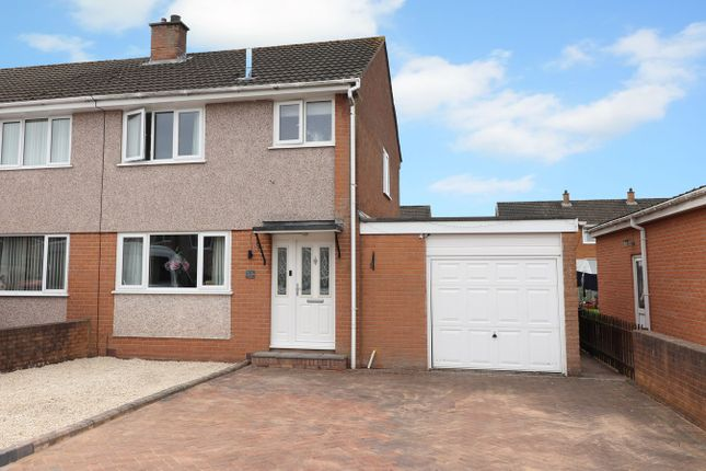 Thumbnail Semi-detached house for sale in Springfields, Wigton