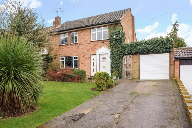 Thumbnail Detached house for sale in Woodfield Rise, Bushey