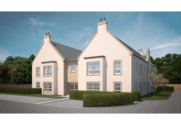 "Thumbnail Flat for sale in ""Greenside Apartment B"" at Abbey Walk, St. Andrews"