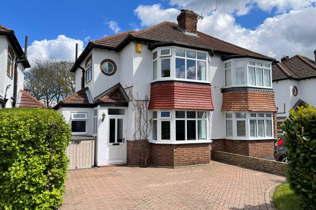 Thumbnail Semi-detached house for sale in Crescent Drive, Petts Wood, Orpington