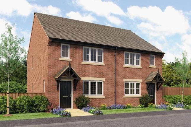 Thumbnail Semi-detached house for sale in Millers Croft, Main Road, Great Haywood, Staffordshire