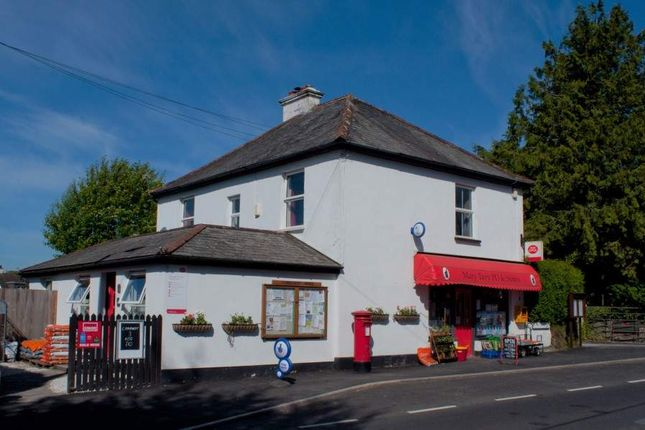 Thumbnail Retail premises for sale in Tavistock, Devon