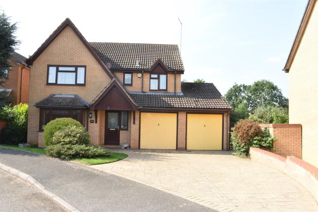 Thumbnail Detached house for sale in Brough Close, Duston, Northampton
