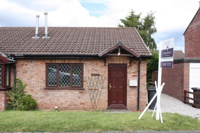 Thumbnail Semi-detached bungalow to rent in LL29, Colwyn Bay, Borough Of Conwy