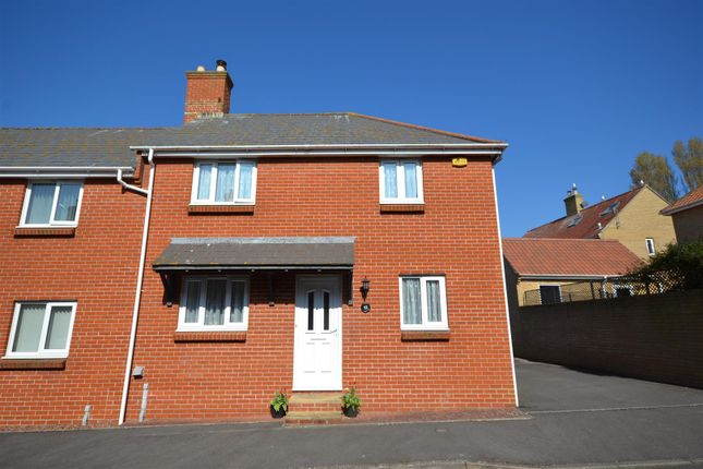 Thumbnail Semi-detached house for sale in Foxglove Way, Bridport
