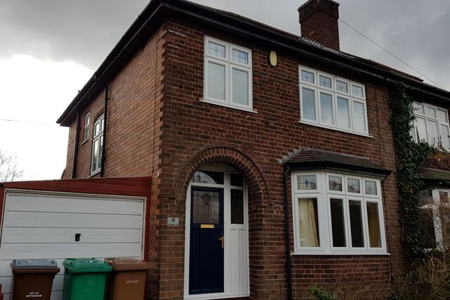 Thumbnail Semi-detached house to rent in Elvaston Road, Nottingham, Nottinghamshire