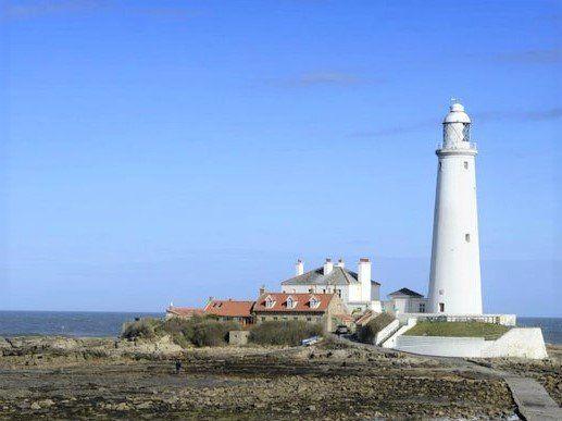 Lighthouse of Cygnet Park, The Links, Whitley Bay NE26