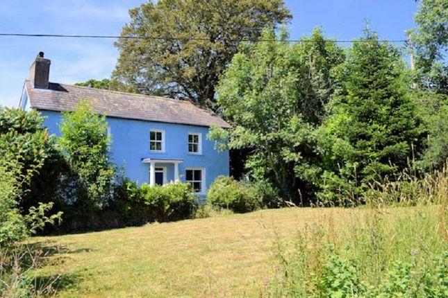 Thumbnail Farmhouse for sale in Llangeler, Llandysul, Carmarthenshire