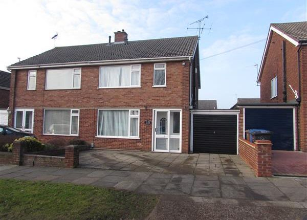 Thumbnail Semi-detached house for sale in Fircroft Road, Ipswich
