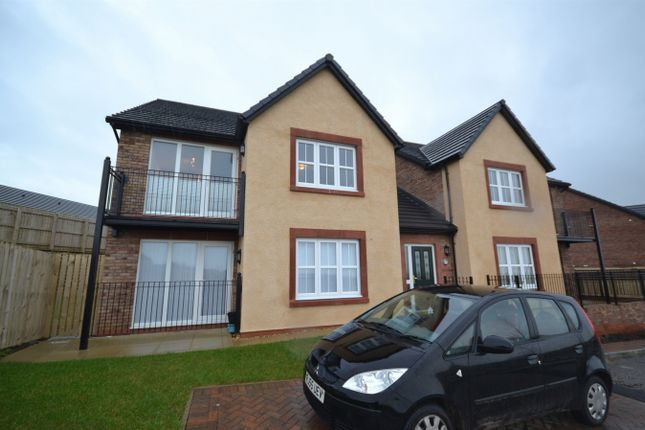 Thumbnail Flat to rent in Waters Edge Close, Whitehaven, Cumbria
