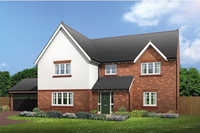 "Thumbnail Detached house for sale in ""Halstead"" at Common Lane, Lach Dennis, Northwich"
