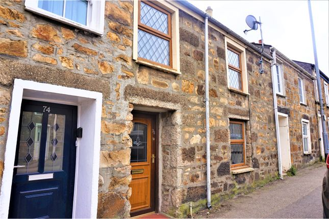 Thumbnail Terraced house to rent in Pendarves Street, Camborne