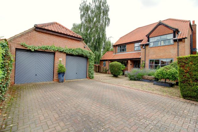 Thumbnail Detached house for sale in Somersby Court, North Carlton, Lincoln