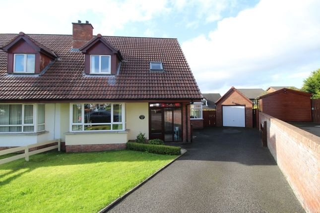 Thumbnail Semi-detached house for sale in Fernbank Park, Bangor