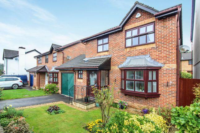 Thumbnail Detached house for sale in Glyndwr Gardens, Ysbytty Fields, Abergavenny