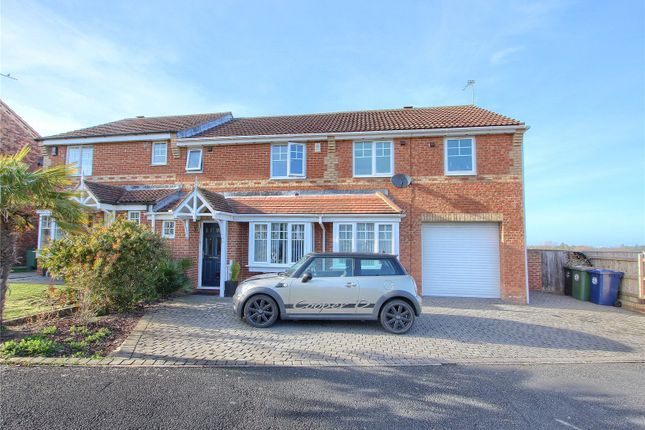 Thumbnail Semi-detached house for sale in Wensleydale, Skelton-In-Cleveland, Saltburn-By-The-Sea