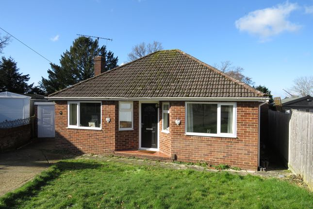 Thumbnail Detached bungalow for sale in Beechcroft Close, Chandlers Ford, Eastleigh