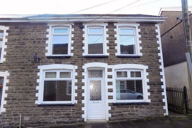 Thumbnail Semi-detached house to rent in Walters Road, Ogmore Vale, Bridgend.