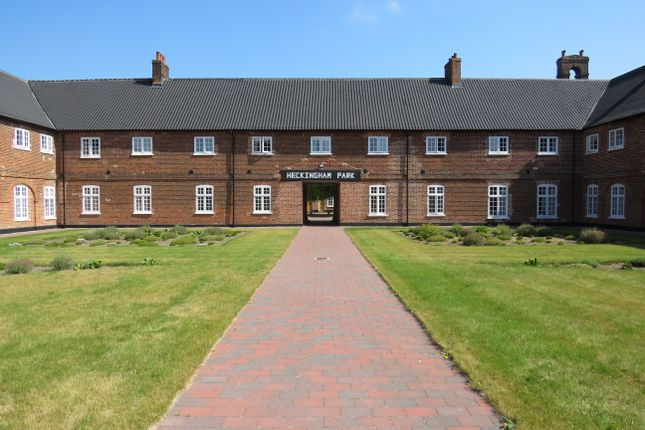 Thumbnail Flat for sale in Heckingham Park Drive, Hales, Norwich