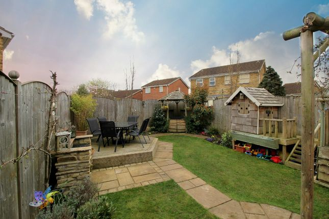 Garden of Willow Rise, Thorpe Willoughby, Selby YO8