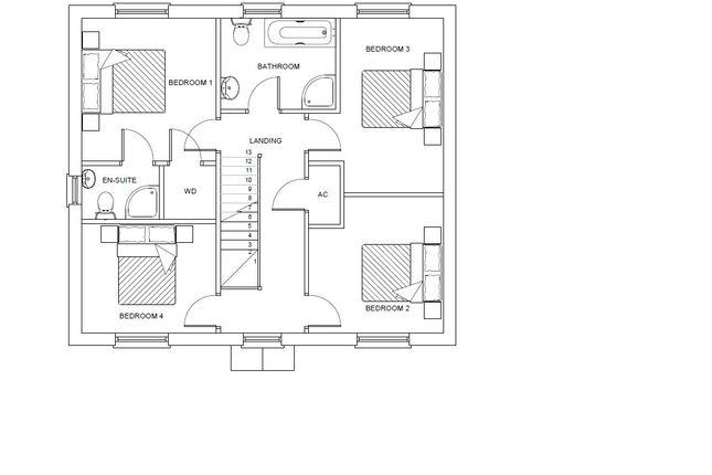 Detached house for sale in Bro Mebyd, Bancffosfelen, Llanelli