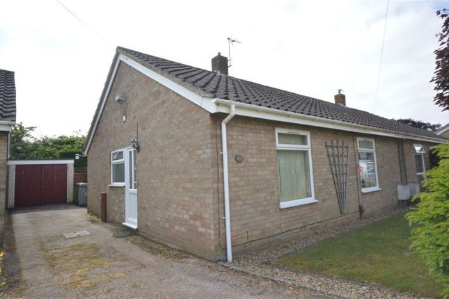Thumbnail Semi-detached bungalow for sale in Three Corner Drive, Old Catton, Norwich, Norfolk