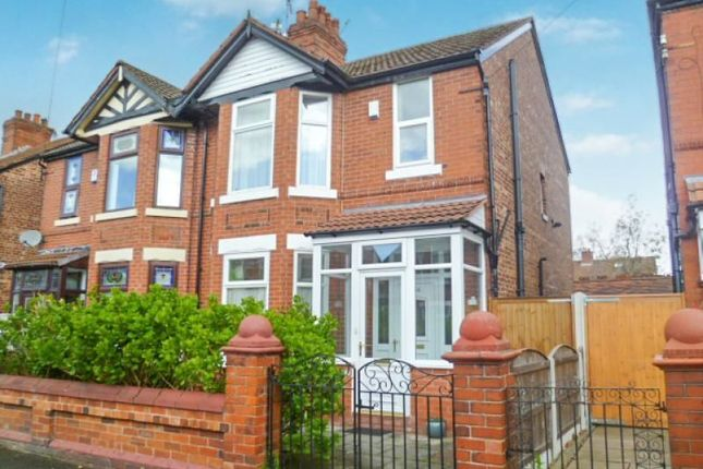 Thumbnail Semi-detached house for sale in Lytham Road, Burnage, Manchester