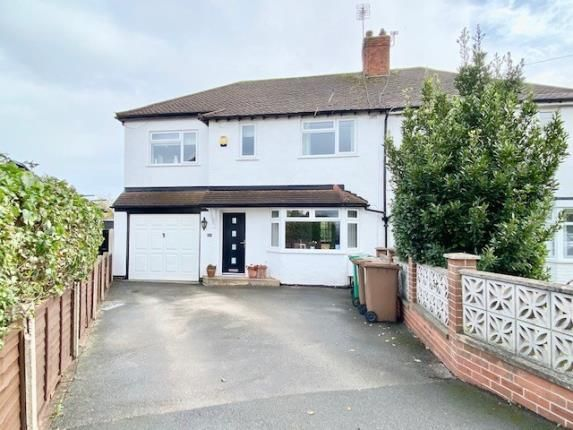 Thumbnail Semi-detached house for sale in Ewell Road, Wollaton, Nottingham, Nottinghamshire