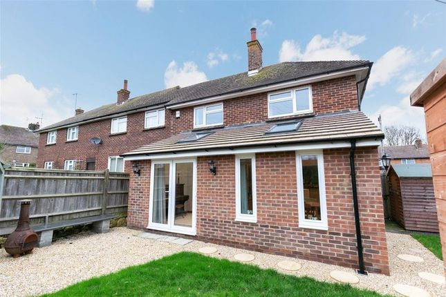 Thumbnail End terrace house for sale in Stonedene Close, Forest Row