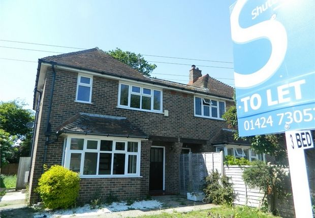 Thumbnail 3 bedroom semi-detached house to rent in Peartree Lane, Bexhill-On-Sea, East Sussex