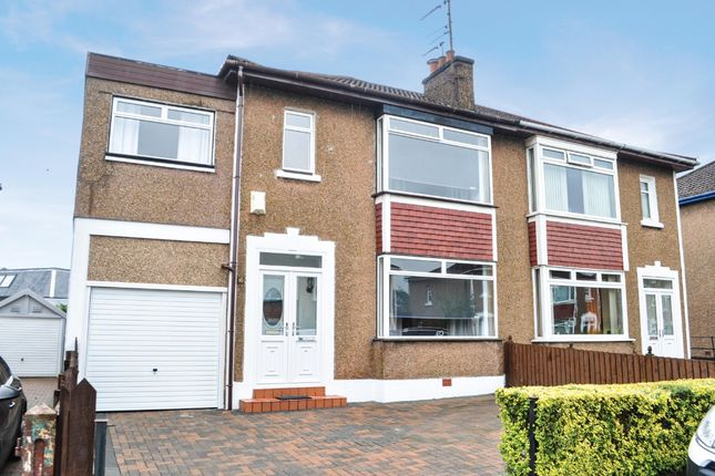 Thumbnail 3 bed semi-detached house for sale in Manor Road, Old Drumchapel, Glasgow