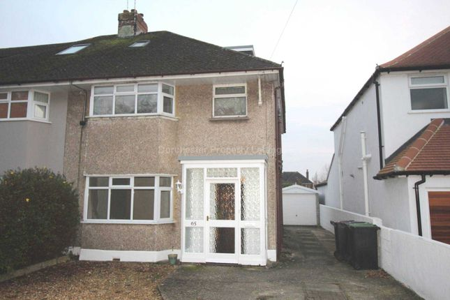 Thumbnail Semi-detached house to rent in Queens Avenue, Dorchester